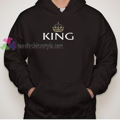 king Hoodie gift shirt sweater custom clothing Unisex
