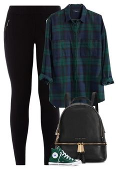 """""""Giovanna"""" by fanny483 ❤ liked on Polyvore featuring New Look, Madewell, Michael Kors and Converse"""