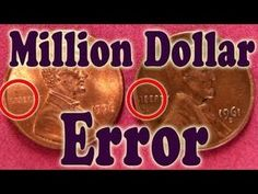 Error, American Coins,Pennies Worth Coins and Currency