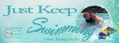Just Keep Swimming free personalized Facebook cover