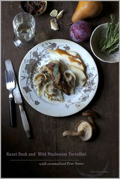 Thyme: When Life hands you lemons, you go have a good cry...and then you go roast a delicious duck and stuff tortellini...