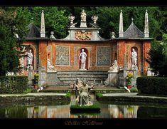 Hellbrunn Palace (German: Schloss Hellbrunn) Austria.