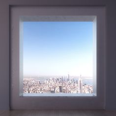 View from the top. 432 Park Avenue