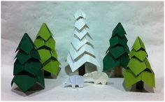 Christmas Origami Models, Christmas Origami, Logos, Explore, Art, Art Background, Logo, Kunst, Performing Arts