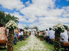 Bons espaços para casamento ao ar livre em Curitiba
