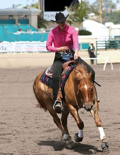 If your horse is a bit too enthusiastic about those fast circles, here's what to do.