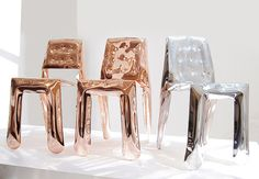 Chairs | Seating | Chippensteel 0.5 copper | Zieta | Oskar Zieta. Check it out on Architonic