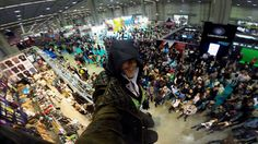 Jacob Frye assassin's creed selfie cosplay convention