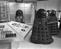 """""""FX DIARY: Fri 12 Jan, Check with Jack Kine who has responsibility for the electronic TARDIS centre column. Doctor Who, William Hartnell, Period Movies, Studio Setup, Dalek, Scene Photo, Dr Who, Tardis, Twitter"""