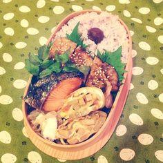Twitter from @niwakoinlondon @obentoart 毎日つくる愛妻?弁当。栄養のバランスも考えながらがっつり男子弁当系?美味しかったぁ、と言われると顔が緩みます✨ #obentoart