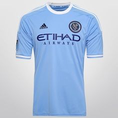 Camisa Adidas New York City Home 2015 s/nº - Azul claro