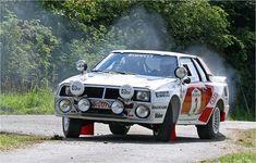 """Toyota Celica Turbo Hier in der """"Afrika""""-Ausführung von 1986 zu sehen. Der 385 PS starke Gruppe B-Turbo-Celica war wohl der Unimog unter den Gruppe B Autos. Die 5 WM-Lauf Siege holte er alle auf dem Afrikanischen Kontinent. Eifel Rallye 2009 - Team: Kopp / Hossbach"""
