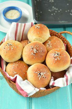 Homemade Mini Burger Buns
