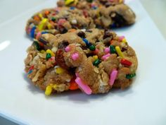 The Baking Fairy: monster cookies
