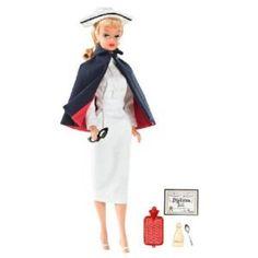 Vintage Nurse | Barbie My Favorite Career Vintage Registered Nurse Barbie Doll
