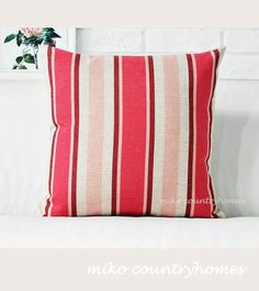 $15 | Pastel Pink Gingham | Throw Pillow Cover #throwpillows #pillowcover #gingham #pastelcolors