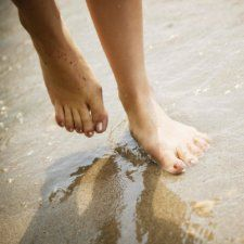 I will no longer fear the other shoe dropping. Because when it does – sometimes it just does – I'll be grateful for the opportunity to walk around barefoot for awhile.