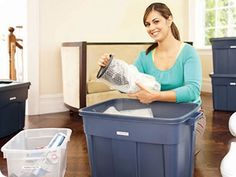 Smooth Moves: Our handy checklist to help you make your move less of a headache   via Rubbermaid - Moving Solutions