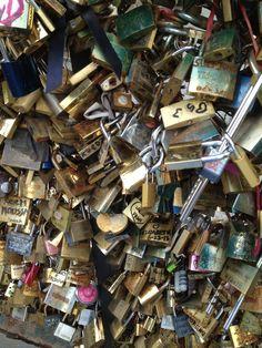 #lock bridge #Paris #love