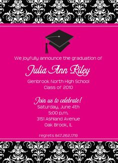 31 Best Graduation Invitation Images Graduation Party Invitations
