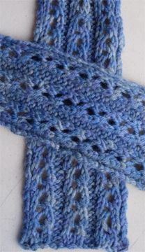 Luxurious Lace Scarf, As Seen on Knitting Daily TV with downloadable pattern