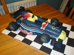 F1 Redbull Team Car
