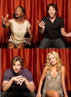 True Blood cast. Love that Bill.