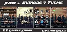 Fast & Furious 7 Live HD Theme For Asha 202,203,X3-02,300,303,C2-02,C2-03,C3-01 Touch and Type Devices ~ Rkthemes   Download Free Themes For Nokia and Android Phones