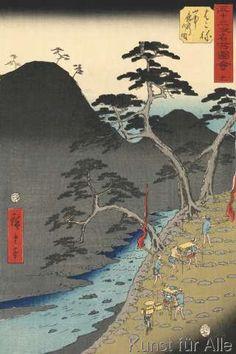 Ando Hiroshige - Hakone