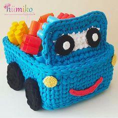 Mais é muito amor meu Deus!!! Pirei no cesto de brinquedos pra meninos!!! #inspiração @humikom