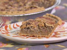 Get Lemon Pecan Pie Recipe from Food Network - NOTE TO SELF - I made this and it was really a very lemony pie. There was not pecan pie flavor at all. It was good especially if you like lemon pie. Pecan Recipes, Pie Recipes, Dessert Recipes, Cranberry Recipes, Kitchen Recipes, Dessert Ideas, Sweet Recipes, Yummy Recipes, Deserts