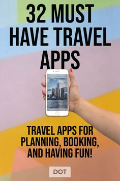 The best travel planing apps for travelers. Plan, book, research, organize and have fun traveling. Best Travel Apps, Packing Tips For Travel, Travel Advice, Packing Lists, Travel Hacks, Travel Ideas, Europe Packing, Traveling Europe, Backpacking Europe