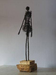 """Saatchi Online Artist D S León; Sculpture, """"Woman Today"""" #art"""