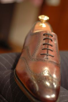 Edward Green Wingtip for Brooks Brothers