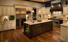 ... I want to keep my Kitchen Cabnets more on the traditional side with modern elements!