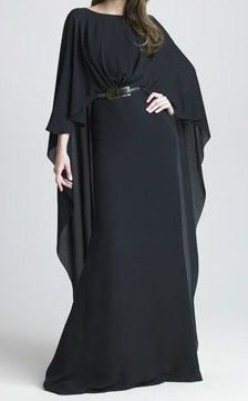 Fashion inspired by the Galactic Senate in Star Wars, picture this in blue and with a V neck and that is my costume