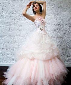 Google Image Result for http://www.weddingdressonline2012.com/wp-content/uploads/2011/12/Flatter-Light-Pink-Wedding-Gown.jpg