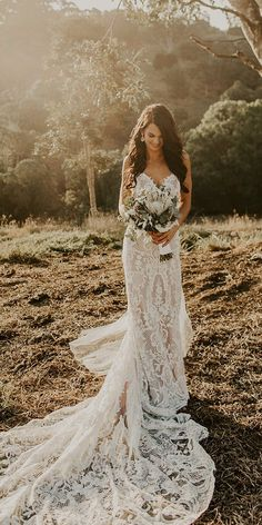 33 Rustic Wedding Dresses For Inspiration ❤ rustic wedding dresses sheath lace sweetheart neckline country bxcsmxth #weddingforward #wedding #bride Country Wedding Dresses, Dream Wedding Dresses, Bridal Dresses, Wedding Dress Older Bride, Sheath Wedding Dresses, Barn Wedding Dress, Wedding Country, Lace Weddings, Boho Wedding