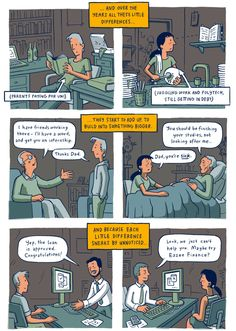Auckland-based illustrator Toby Morris perfectly summarizes what it means to be privileged with this thought-provoking comic strip. When we say privileged, we're not talking about those people who were born into royalty, or those with millionaire parents. We simply mean those folks who have perhaps had a helping hand or two in life while others weren't afforded such assistance.