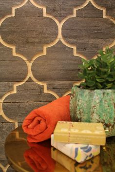Moroccan Wood Wall