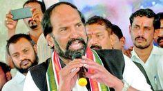 Uttam Kumar Reddy throws down the gauntlet at KCR - G News Political Leaders, Politics, G News, News Channels, Live News, Business News, Telugu, Presidents, Challenges