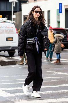 Street style from New York Fashion Week autumn/winter '17/'18 - Vogue Australia