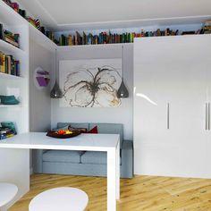 Фото из статьи: Как спланировать квартиру-студию: пример из Москвы