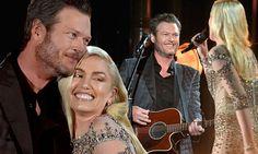 Gwen Stefani and Blake Shelton perform at Billboard Music Awards