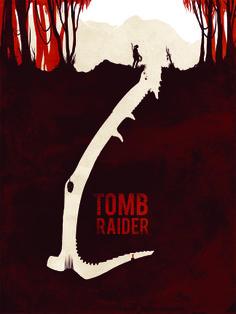 Jeff Langevin Geek Posters - Tomb Raider