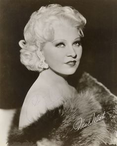 Mae West #hollywood #classic #actresses #movies