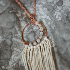 your intuition is a real-life superpower. if only you listened to her... // Esther handmade moonstone magic // $45
