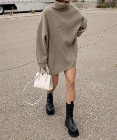 ✔ Fashion Style Guide What To Wear Winter Fashion Outfits, Fall Winter Outfits, Spring Outfits, Fashion Mode, Look Fashion, 80s Fashion, Elegantes Outfit Frau, Mode Zara, Look Boho Chic