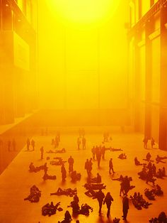 The Weather Project' by Olafur Eliasson