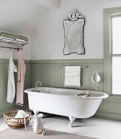 Romantiska Hem: badrum